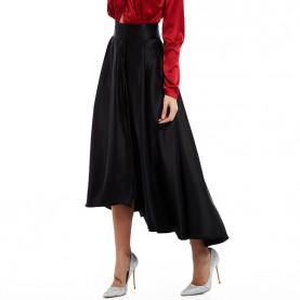 Jupe longue noire gothique