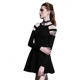 robe gothique noire