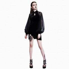 Robe gothique Noir Musane