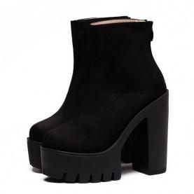 chaussures noire rock gothique